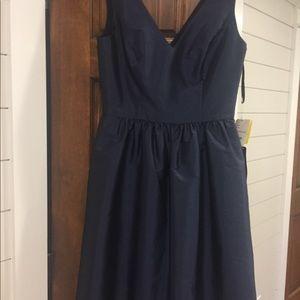 New Midnight navy formal sleeveless dress sz 6